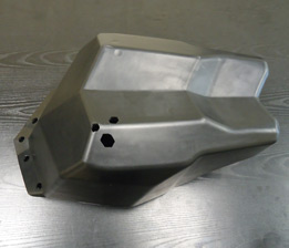Reaction Injection Mold for Storage Bin